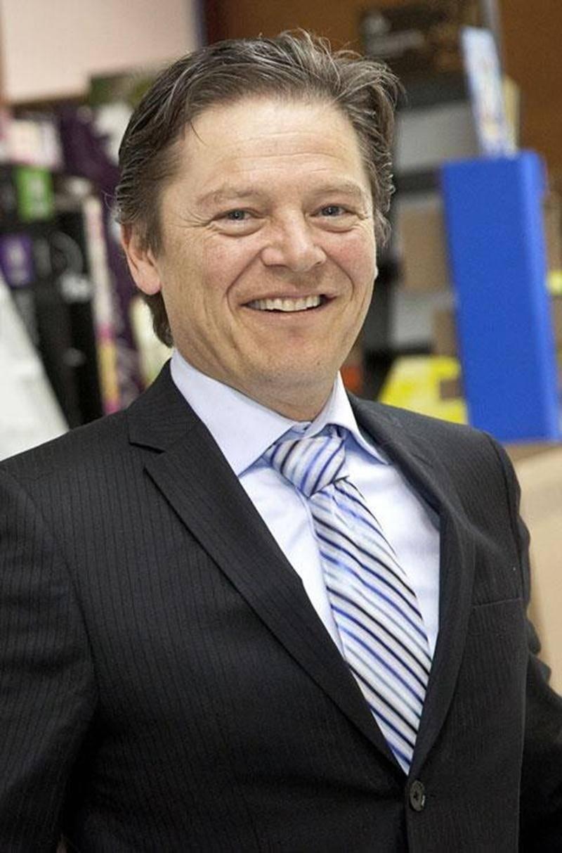Alain L'Heureux, président et chef de la direction des Emballages Cartex.