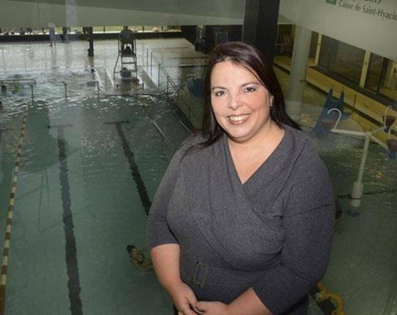 Un service de spa et détente sera offert dès janvier dans le bassin récréatif du Centre aquatique Desjardins, situé à l'arrière de Nathalie Brouillard, propriétaire d'Évasion Spas.