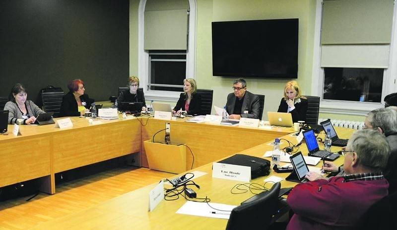 Les membres du conseil d'administration du CSSSRY ont siégé pour la dernière fois mardi dernier.  Photo François Larivière | Le Courrier ©