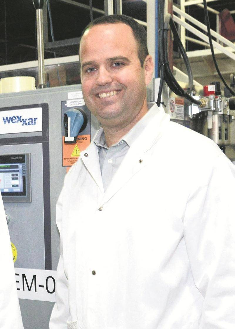 David Gaucher, vice-président et directeur général de Bio Biscuit à Saint-Hyacinthe.