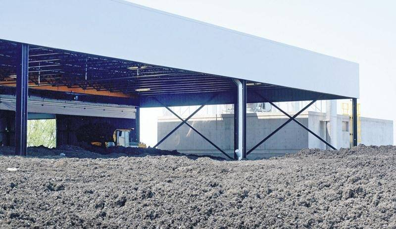 La gestion du digestat issu de la biométhanisation engendrera des dépenses récurrentes importantes pour la Ville de Saint-Hyacinthe. Photothèque | Le Courrier ©