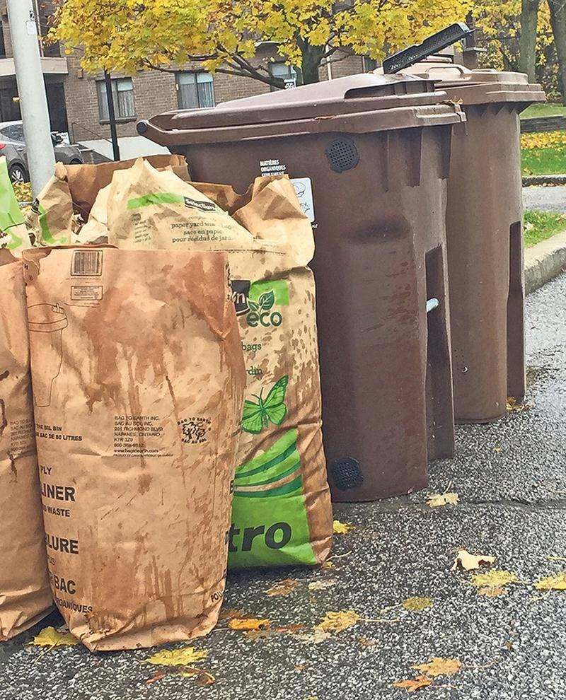 Vos déchets organiques n'iront pas tout de suite produire du gaz naturel à l'usine de biométhanisation de la Ville de Saint-Hyacinthe. Et rien ne garantit qu'ils iront un jour.   Photo Robert Gosselin | Le Courrier ©