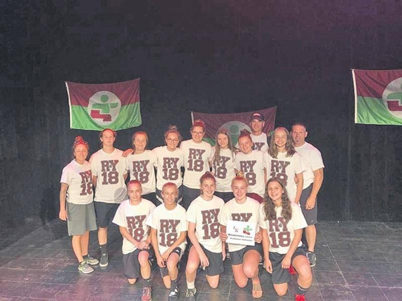 L'équipe de basketball féminin s'est mérité la médaille de bronze lors de la Finale des Jeux du Québec. Photo Facebook Jeux du Québec Richelieu-Yamaska