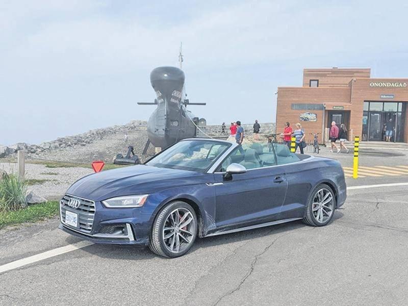 Audi S5 : Nouveau-Brunswick, on arrive!