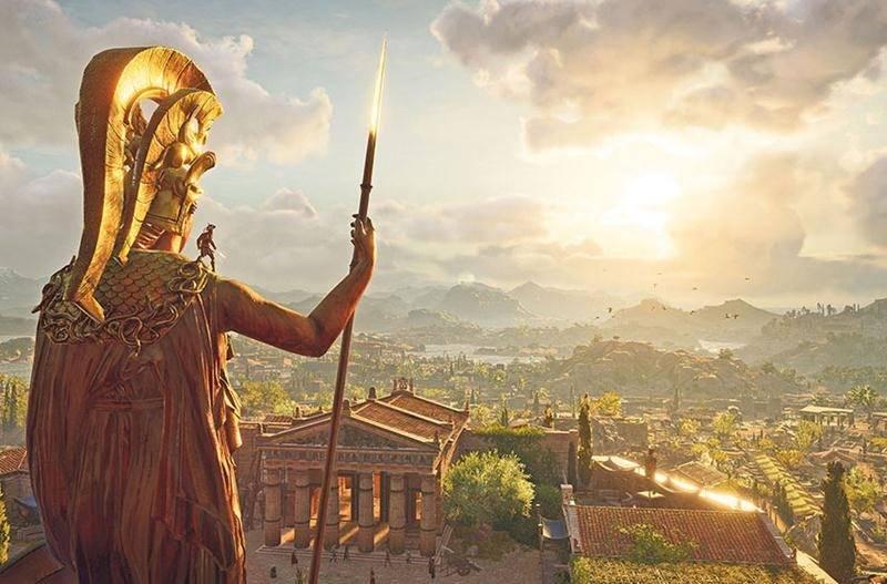 Le nouveau volet de la série Assassin's Creed se déroule en Grèce antique, durant la Guerre du Péloponnèse, en 431 avant Jésus-Christ. Photo courtoisie Ubisoft Québec