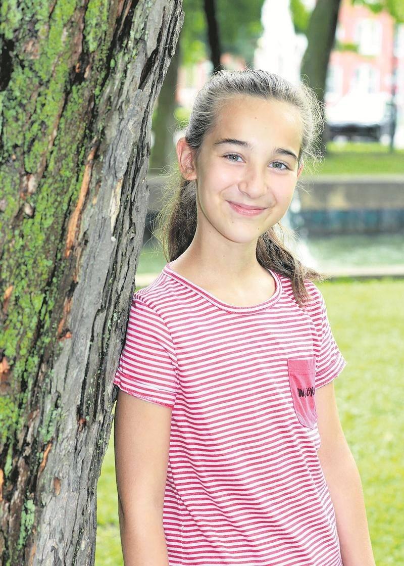 Gagnante l'an dernier chez les 6-9 ans, Maïsan Jos retournera au Petit Festival de la chanson de Granby cet été dans la catégorie des 10-13 ans. Photo Robert Gosselin | Le Courrier ©