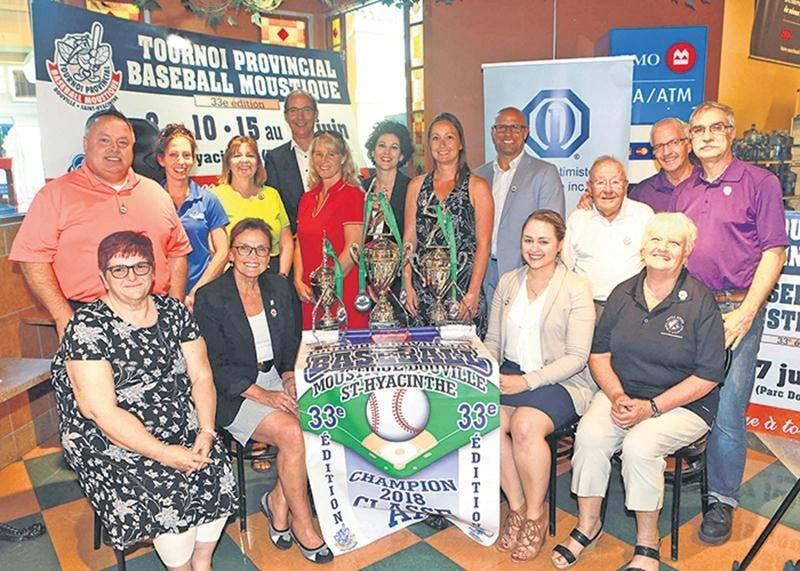 Le 33e Tournoi provincial de baseball moustique de Saint-Hyacinthe se mettra en branle le 8 juin pour deux fins de semaine d'activité.