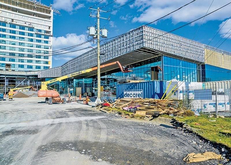 Les dépenses de construction du centre de congrès ont été évaluées en avril à 36 M$ par la Ville de Saint-Hyacinthe, sur un coût total de 38,5 M$. Photothèque | Le Courrier ©