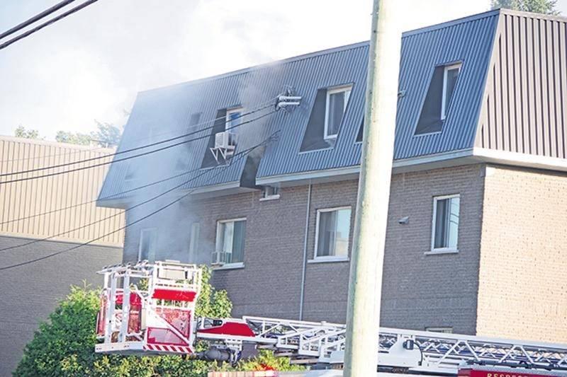 Incendie sur la rue Sainte-Catherine : cinq familles sinistrées