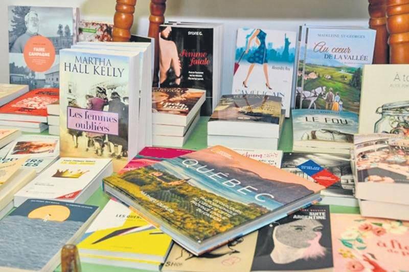 La librairie L'Intrigue accueillera trois auteurs québécois, le 12 août, pour la journée « J'achète un livre québécois ». Photo François Larivière | Le Courrier ©