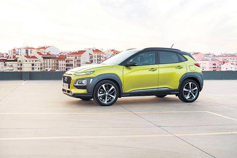 Hyundai Kona : petit mais stylisé
