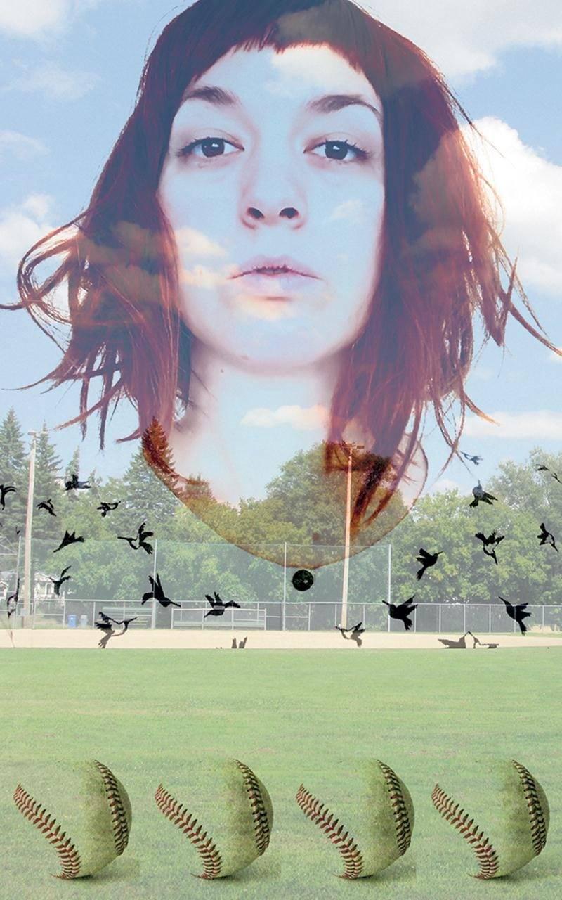 C'est avec cette image promotionnelle que Roxane Chamberland présente l'ambiance qu'elle entend créer avec le projet Grand chelem. Image Roxane Chamberland