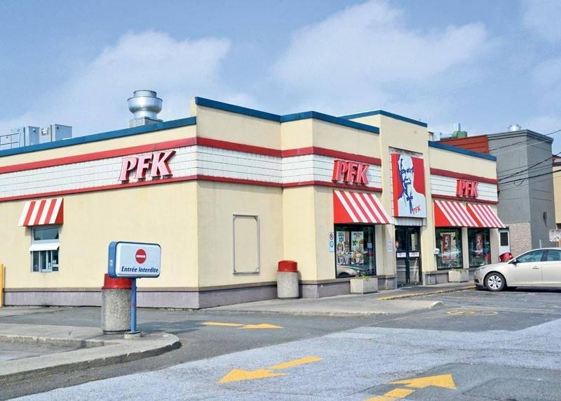 Ouvert à l'été 1971, le restaurant PFK de Saint-Hyacinthe vient de fermer définitivement ses portes. Photo François Larivière | Le Courrier ©