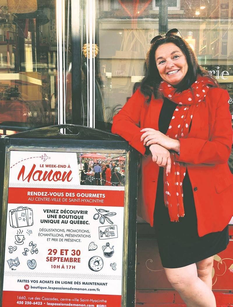 Manon Robert invite les gens à la quatrième édition de son week-end gourmand.