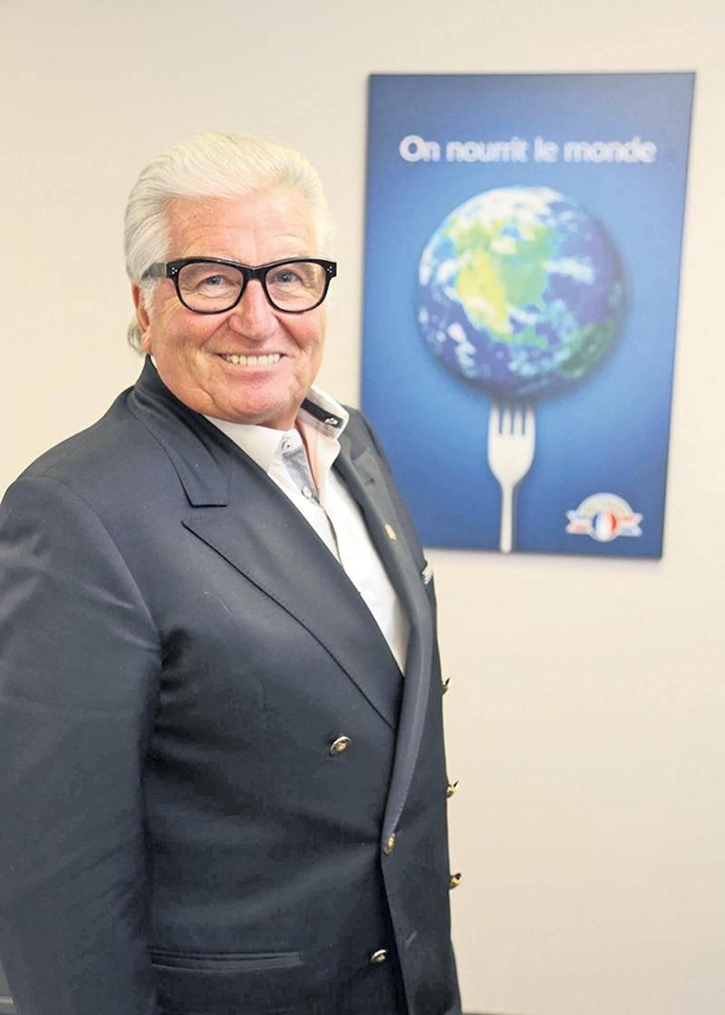 Le président-directeur général d'Olymel, Réjean Nadeau.