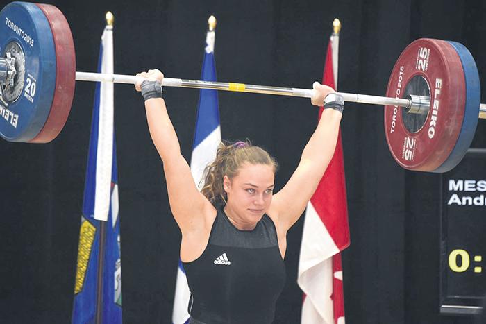 Andréanne Messier a été couronnée championne pour une deuxième année consécutive chez les 69 kg, tout juste devant sa compatriote Magalie Roux.