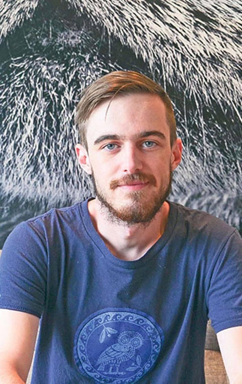 Pour son premier projet depuis qu'il a été embauché chez Ubisoft, Philippe Fontaine, de Saint-Liboire, a fait partie de l'équipe derrière le nouveau jeu Assassin's Creed Odyssey.  Photo courtoisie Ubisoft Québec