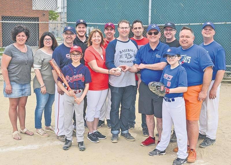 Baseball Saint-Hyacinthe célèbre le début de la saison