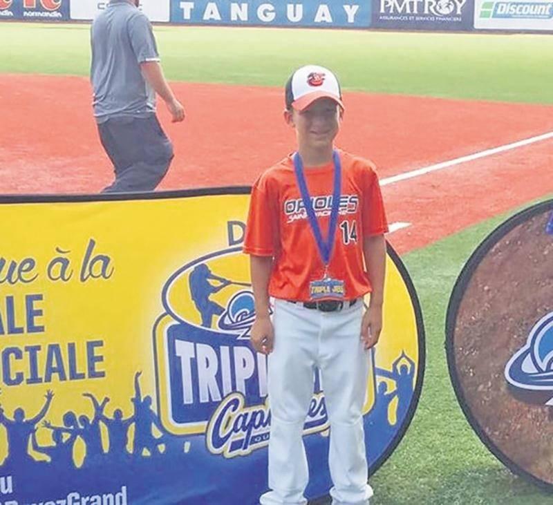 Baseball : un Maskoutain s'illustre à la finale provinciale du Défi Triple Jeu