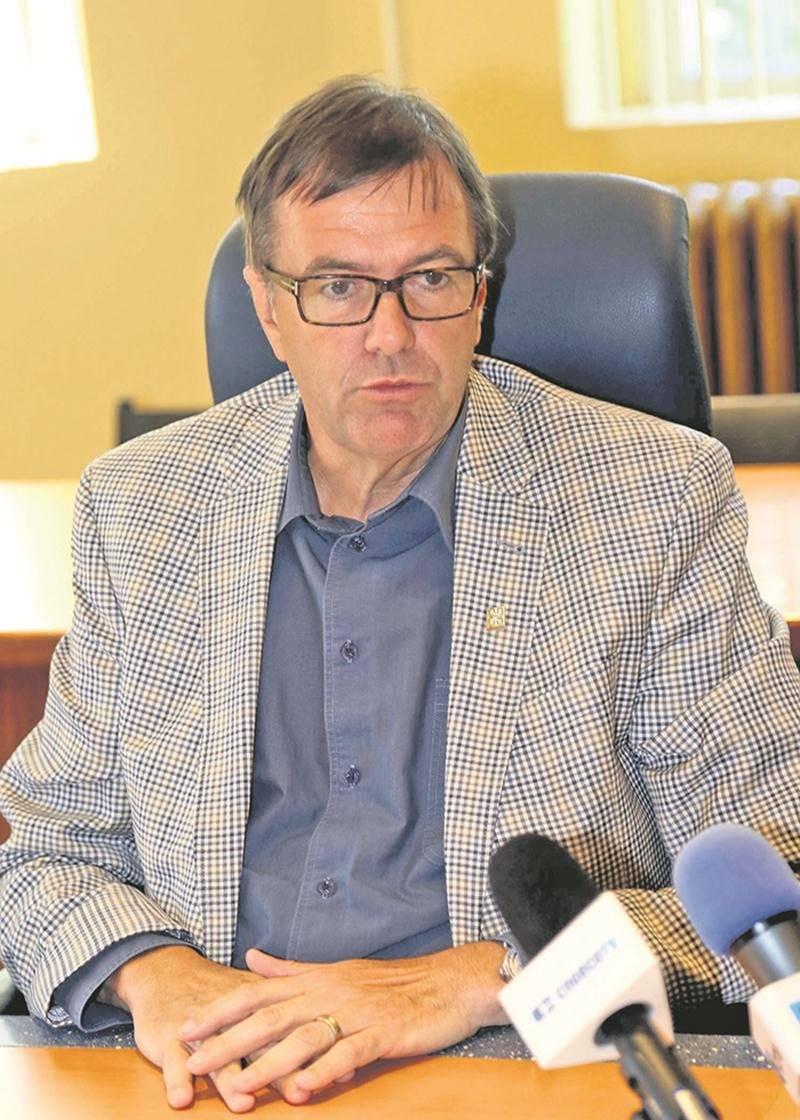 Louis Bilodeau, directeur général de la Ville de Saint-Hyacinthe. Photothèque | Le Courrier ©