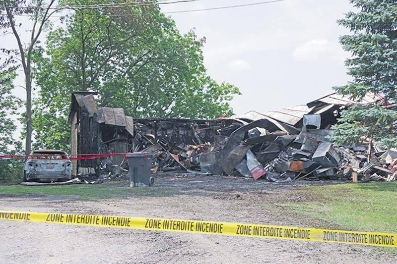 La Sûreté du Québec a confirmé que l'incendie a été déclenché par une main criminelle.