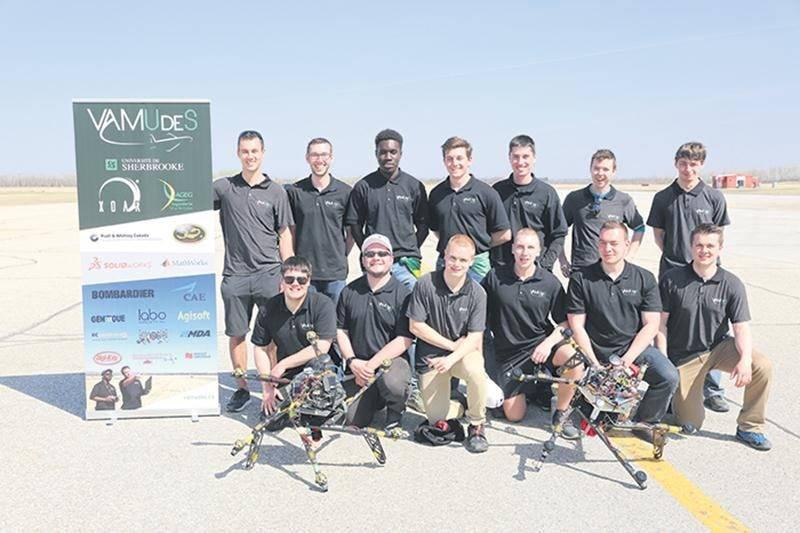 Le Maskoutain Alexandre Guilbault et son équipe VAMUdeS ont remporté pour une troisième année consécutive le titre de champion du monde lors de la prestigieuse compétition de drone, qui se tient chaque année au Maryland. Photo courtoisie