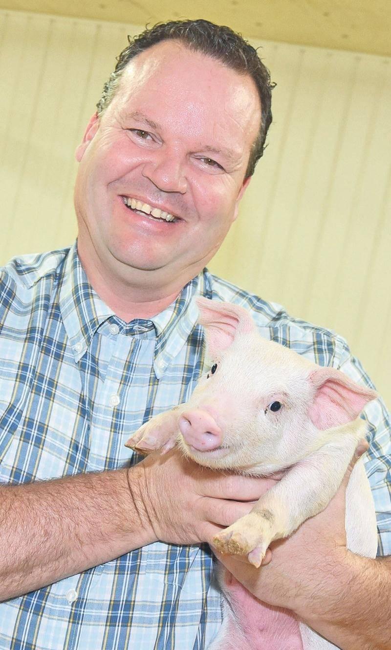 David Duval, président des Éleveurs de porcs du Québec. Photothèque | Le Courrier ©