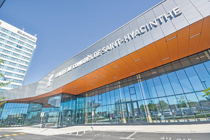 Venez visiter le nouveau Centre de congrès de Saint-Hyacinthe