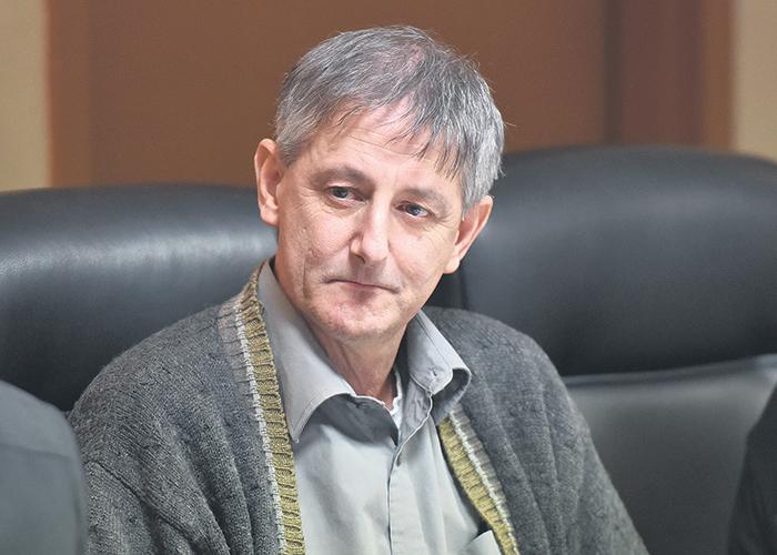 André Lefebvre, maire de Sainte-Madeleine.