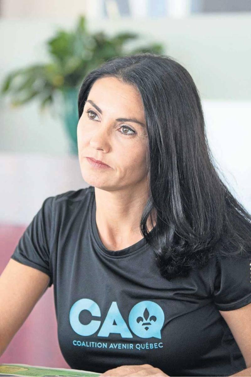 La députée sortante Chantal Soucy n'a pas apprécié les commentaires de l'ex-député Émilien Pelletier à son encontre.   Photo Martin Lacasse   Le Courrier ©