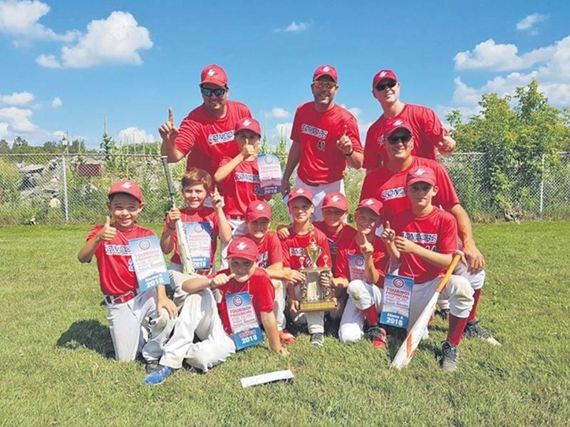 Baseball : les Condors atome A triomphent à Magog