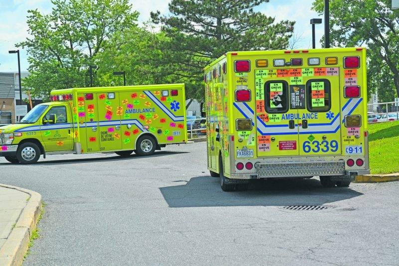 Un manque de ressources ambulancières à Saint-Hyacinthe?