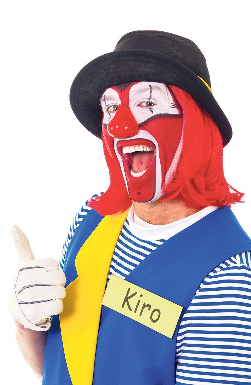 Kiro le clown sera de la partie pour la première édition du Festival interculturel de la MRC des Maskoutains ce samedi aux Galeries St-Hyacinthe. Photo courtoisie