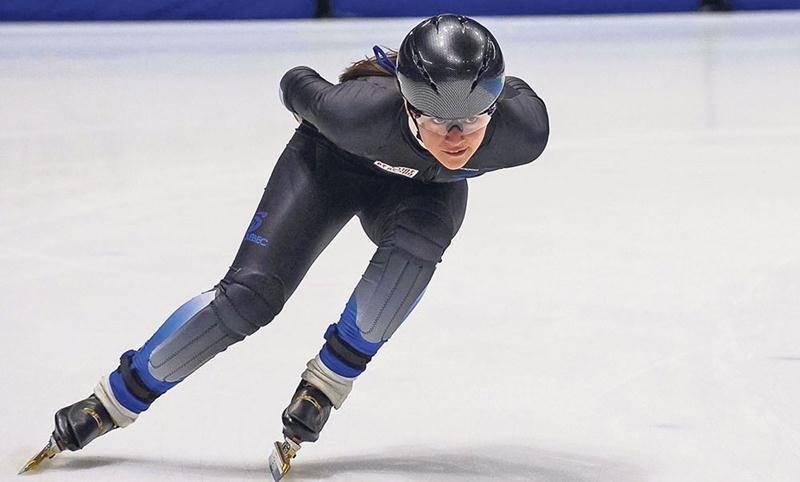 Après le championnat canadien senior il y a deux semaines, Rosemarie Charest s'est envolée hier pour Salt Lake City où elle prendra part dans les prochains jours à sa première compétition internationale senior. Photo courtoisie