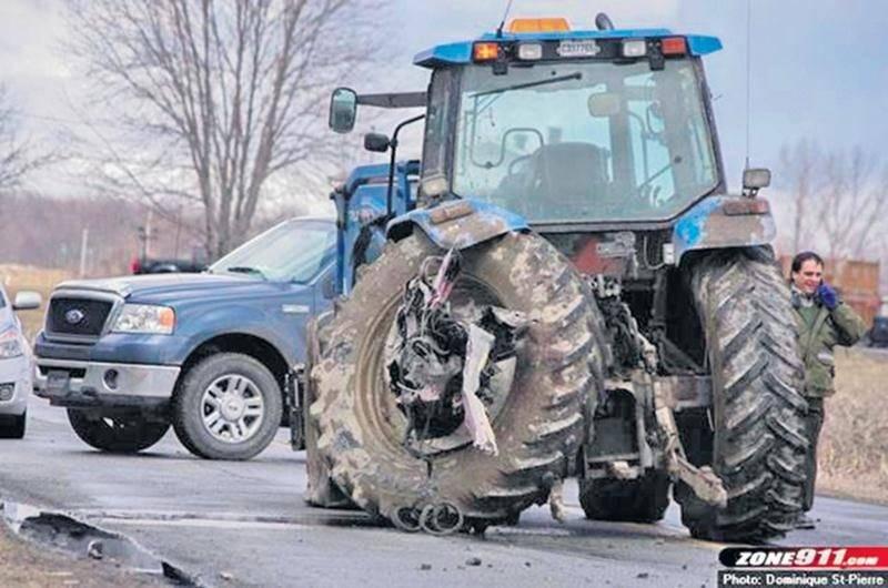 Selon l'UPA, le faible taux d'accidents impliquant des véhicules agricoles explique l'absence de campagne de sensibilisation réalisée par la Société de l'Assurance Automobile du Québec (SAAQ).