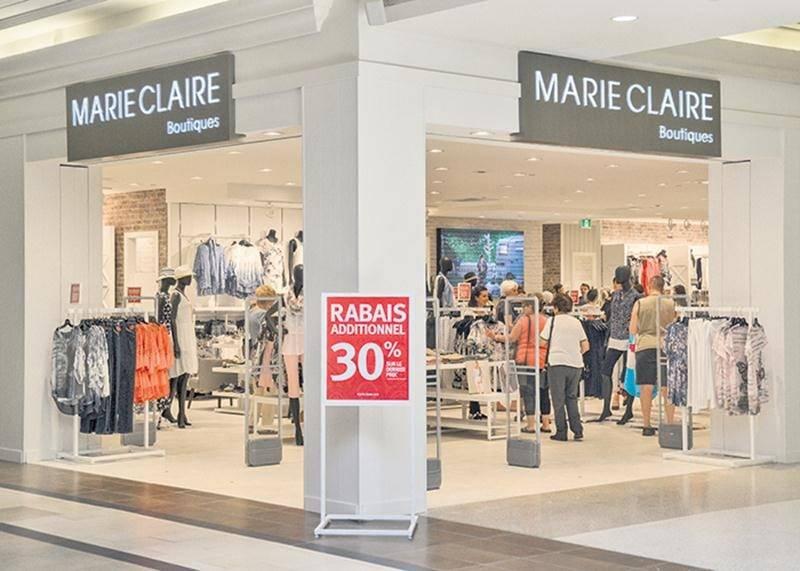 La boutique Marie Claire se refait une beauté!