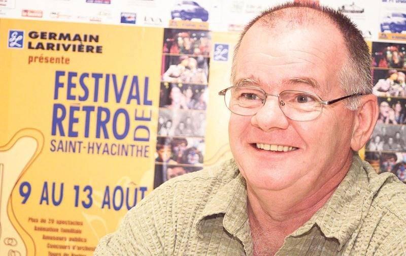 Michel Rousseau aux plus belles heures du Festival Rétro de Saint-Hyacinthe. Photothèque | Le Courrier ©