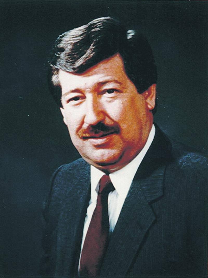 Le regretté Guy Gingras (1938-2018), maire du village de Saint-Damase de 1975 à 1993. Cette photographie date de 1984. Courtoisie municipalité de Saint-Damase.
