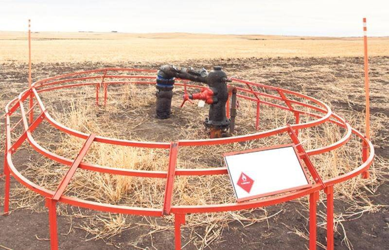 Malgré les apparences, la reprise des activités gazières dans les basses-terres du Saint-Laurent n'est pas pour demain. Photo iStock