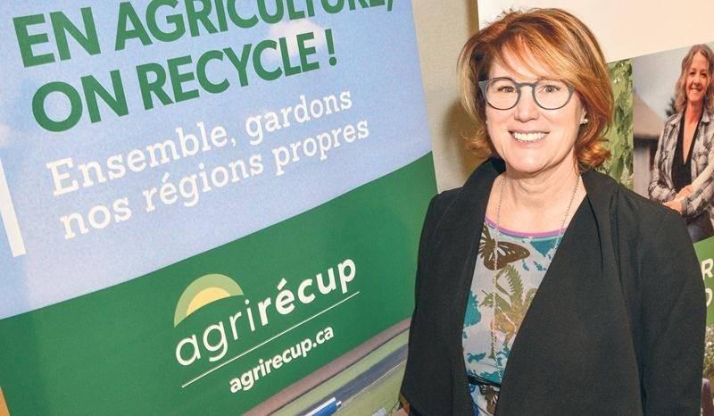 Christine Lajeunesse, directrice régionale d'AgriRÉCUP pour l'est du Canada. Photo François Larivière | Le Courrier ©