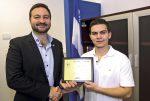 Blessé au Shaker : Anthony Seyer a reçu un « Hommage au courage » du député