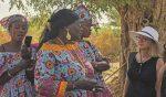 Une agricultrice saint-pienne au Sénégal
