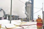 Incendie à Saint-Simon : des dizaines de vaches périssent