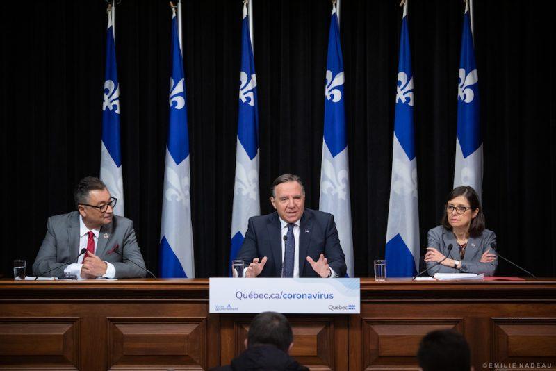 Photo du Cabinet du premier ministre du Québec