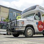 Retrait des plexiglas dans les bus de ville