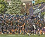 Football collégial : une saison de quatre matchs