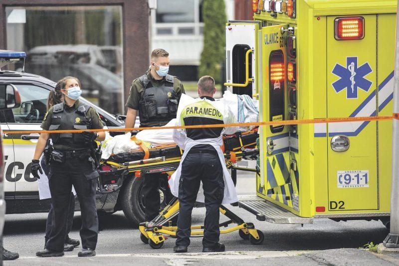 Deux corps retrouvés dans un logement  en haut du Grand Tronc